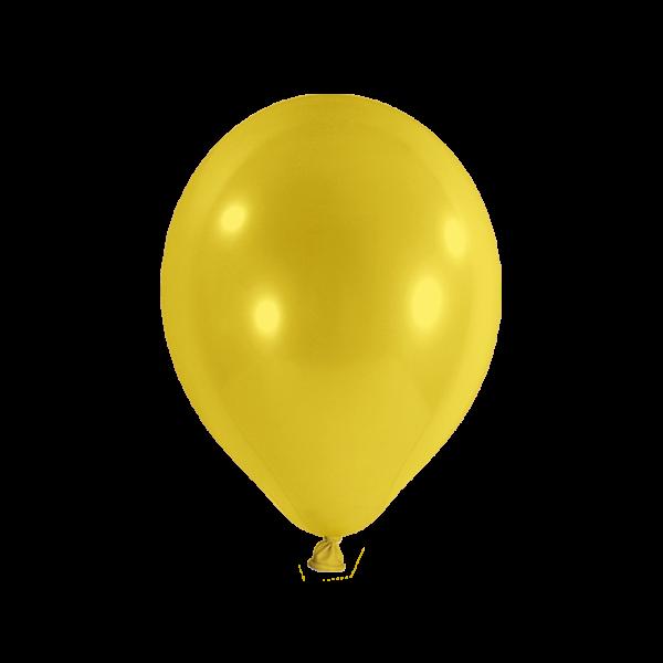 50 Luftballons - Ø 27cm - Gelb