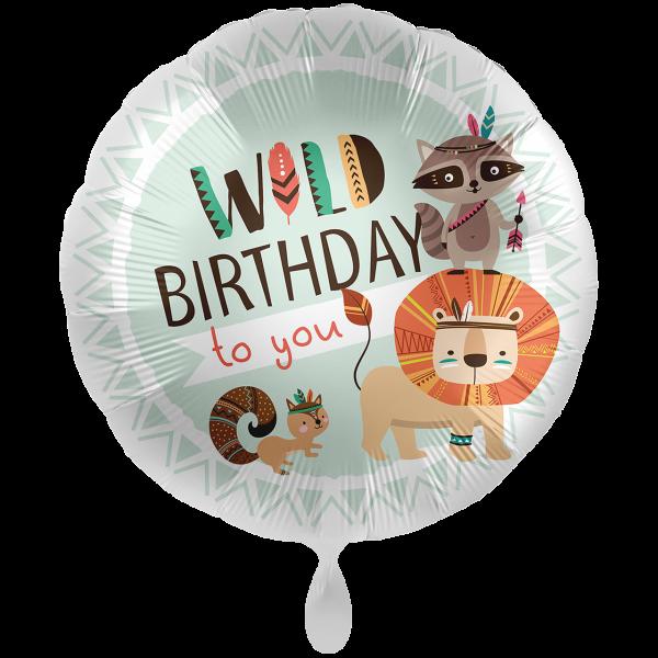 1 Ballon XXL - Wild Birthday