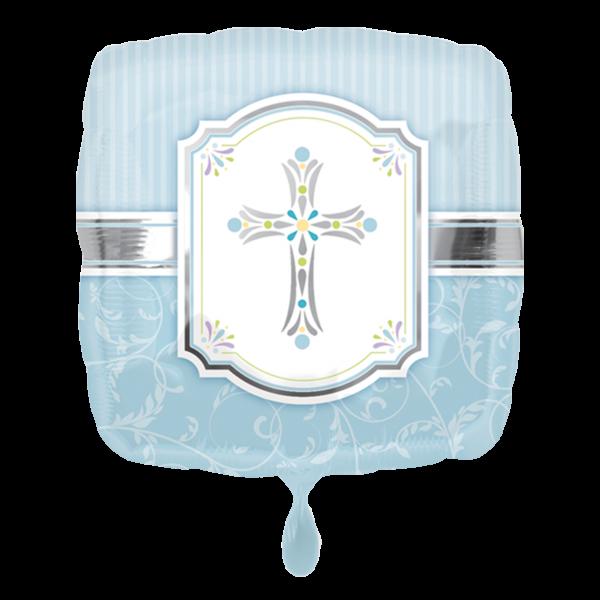 1 Ballon - Communion Blessings Blue