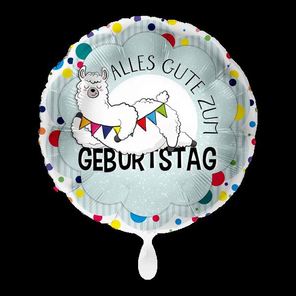 1 Ballon - Lama Geburtstag