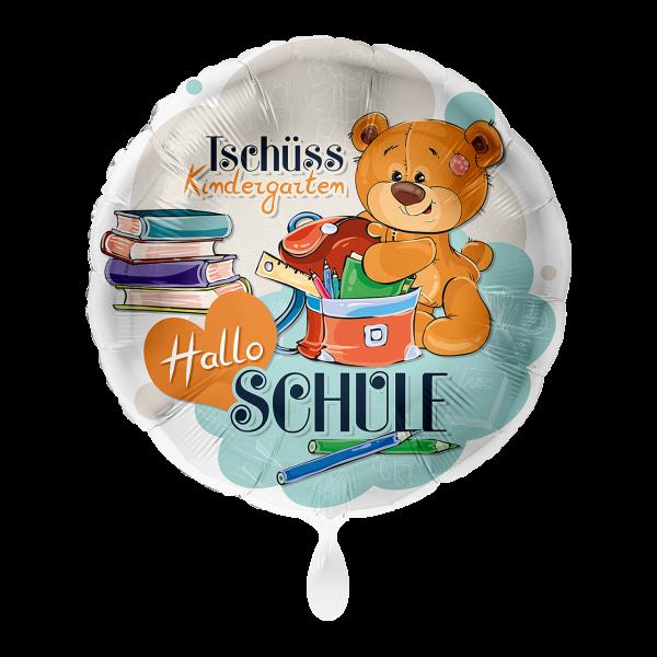 1 Ballon - Hallo Schule