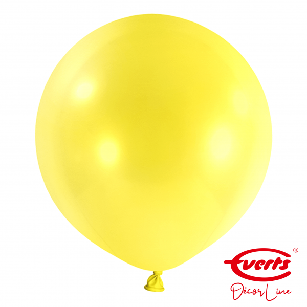4 Riesenballons - DECOR - Ø 60cm - Sunshine Yellow