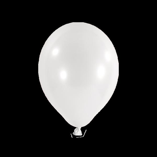 100 Luftballons - Ø 27cm - Weiß