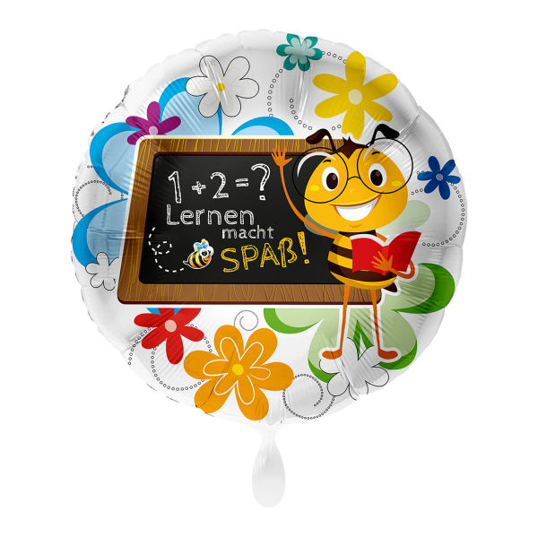 1 Ballon - Lernen macht Spaß Biene