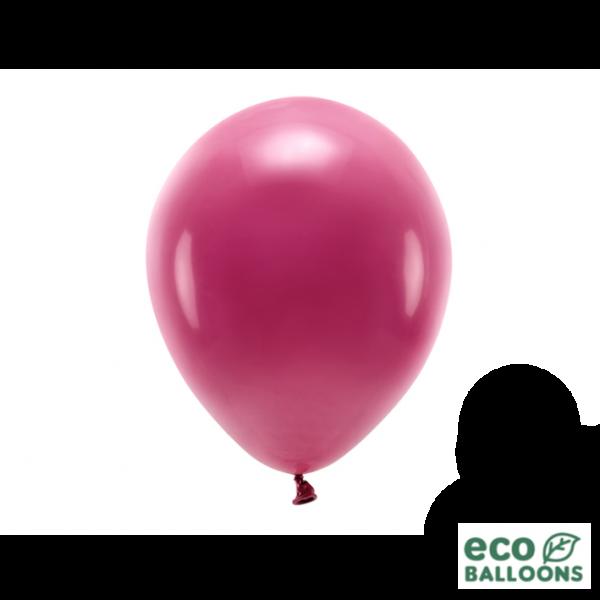 100 ECO-Luftballons - Ø 26cm - Deep Red
