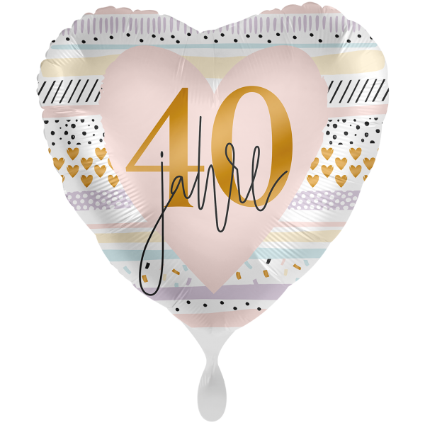 1 Ballon XXL - Creamy Blush 40