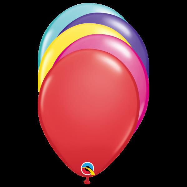 6 Luftballons - Ø 27cm - Mix