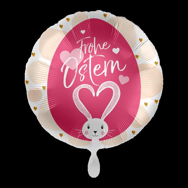 1 Ballon - Frohe Ostern Loving Bunny