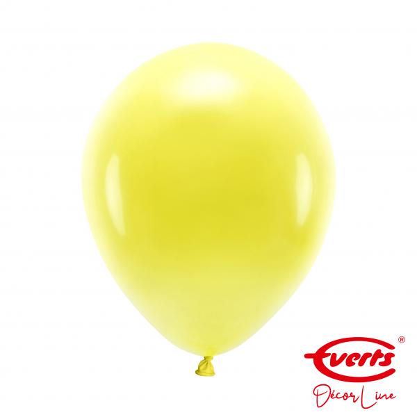 50 Luftballons - DECOR - Ø 28cm - Sunshine Yellow