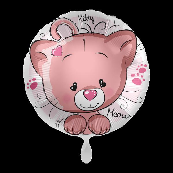 1 Ballon - Kitty Cat