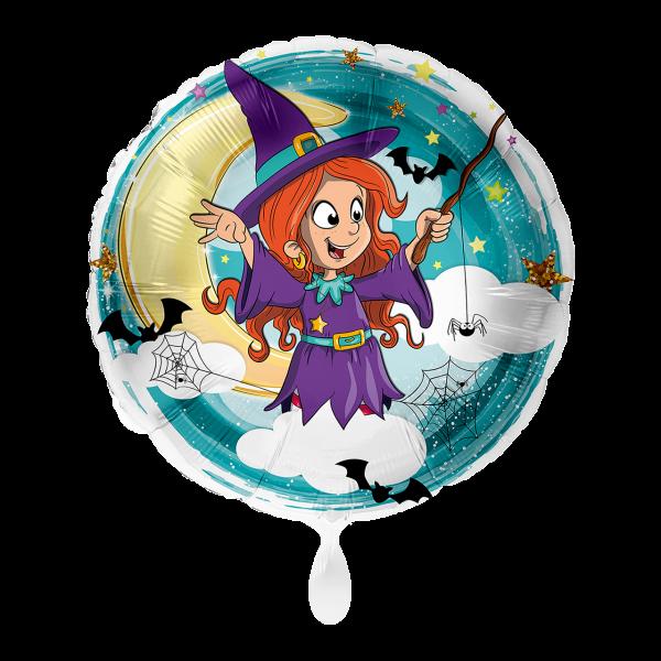 1 Ballon - Hexe