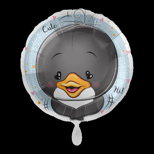 1 Ballon - Adorable Penguin