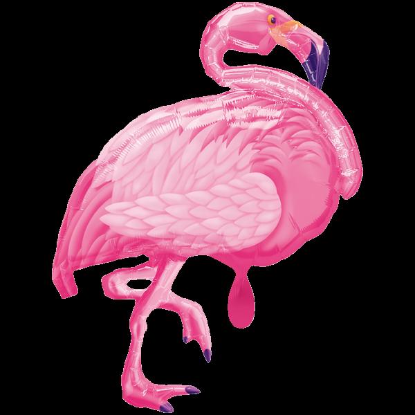 1 Ballon XXL - Flamingo Beach