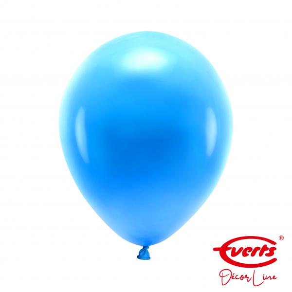 50 Luftballons - DECOR - Ø 28cm - Pearl & Metallic - Bright Royal Blue