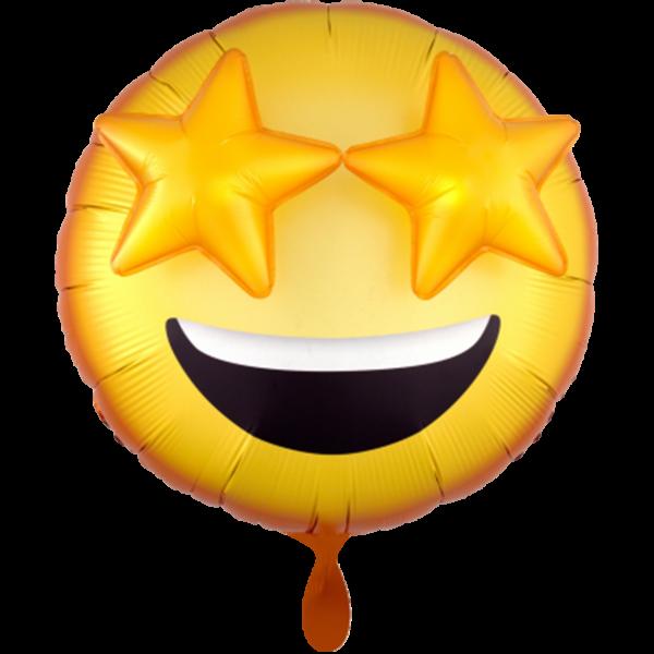 1 Ballon - 3D Emoticon - Ø 71cm