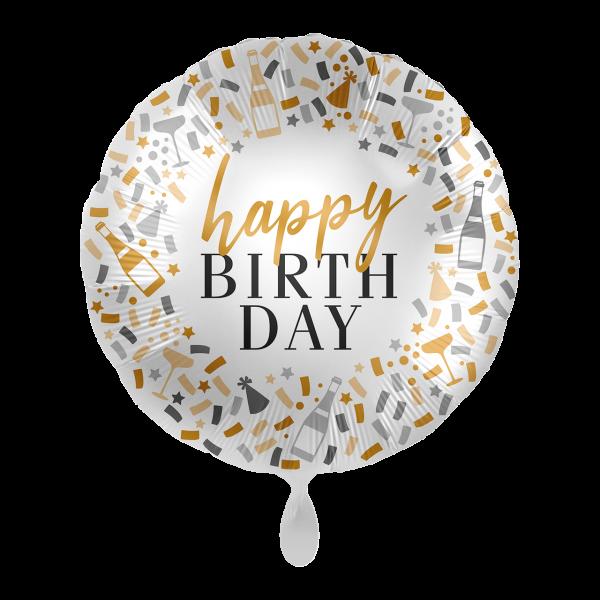 1 Balloon - Hello Happy Birthday - ENG