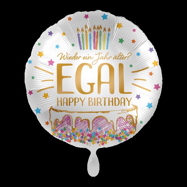 1 Ballon - Wieder ein Jahr älter? EGAL