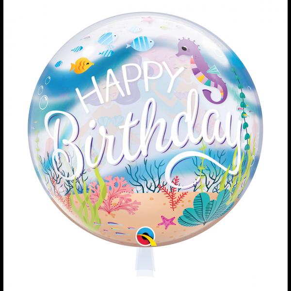 1 Bubble Ballon - Mermaid Birthday Party