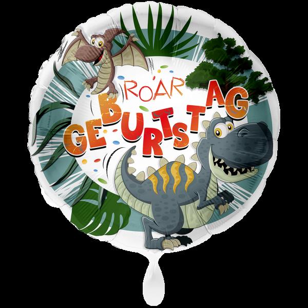 1 Ballon XXL - Geburtstag Dinosaurier