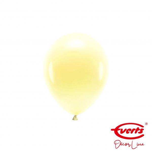 100 Miniballons - DECOR - Ø 13cm - Pearl & Metallic - Vanilla Cream