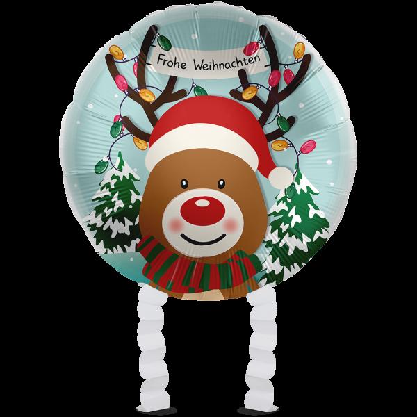 1 Ballonwalker - Christmas Reindeer
