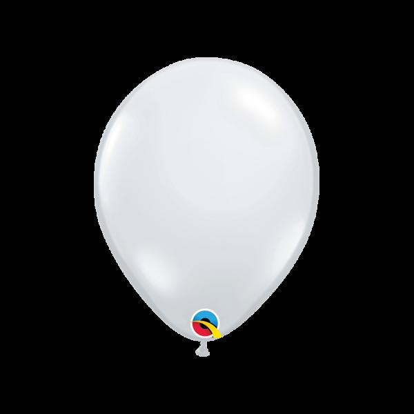 100 Luftballons - Ø 27cm - Diamond Clear