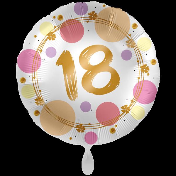 1 Ballon XXL - Shiny Dots 18