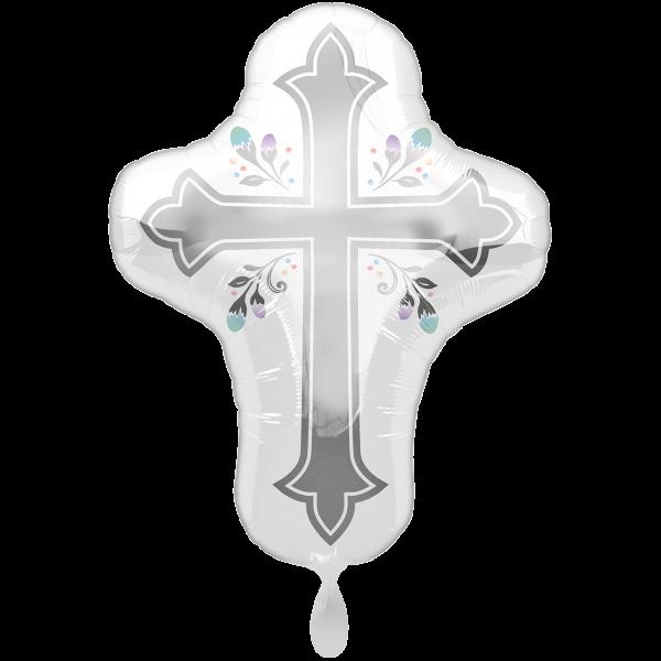 1 Ballon XXL - Holy Day Cross