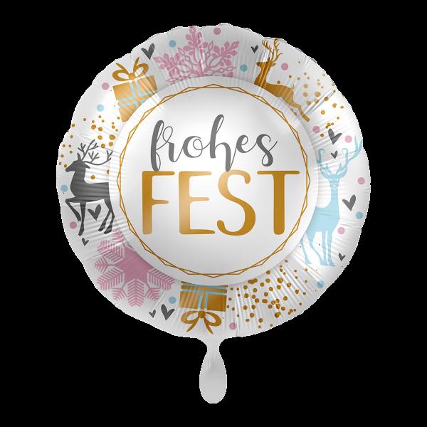 1 Ballon - Frohes Fest