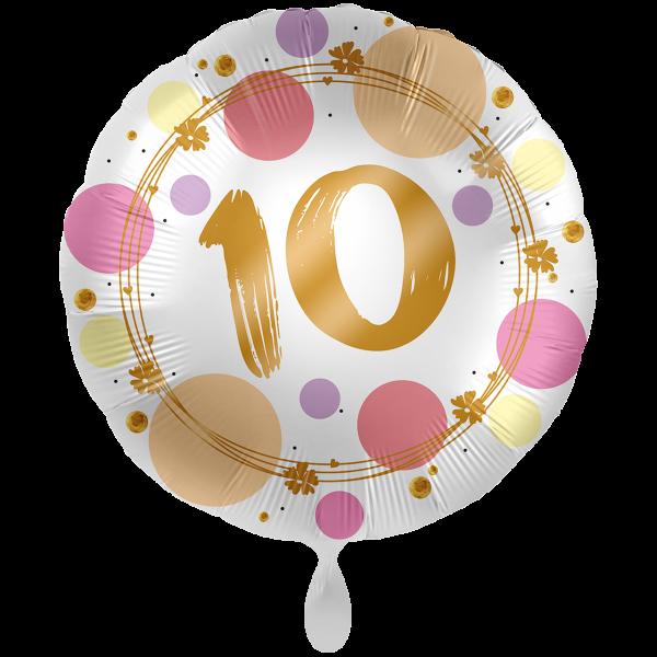 1 Ballon XXL - Shiny Dots 10