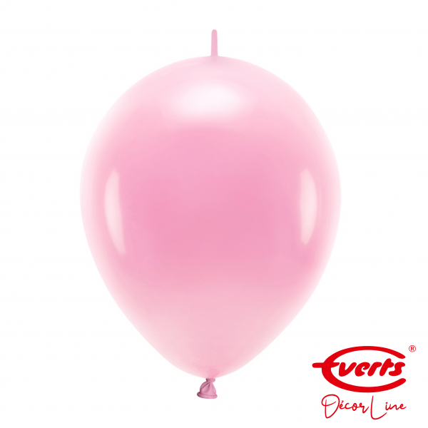 50 Girlandenballons - DECOR - Ø 30cm - Pretty Pink (Rosa)