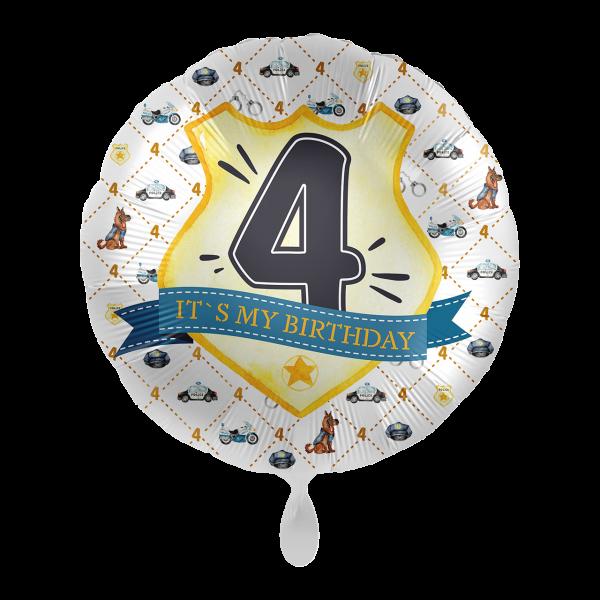 1 Ballon - Police Academy - Vier