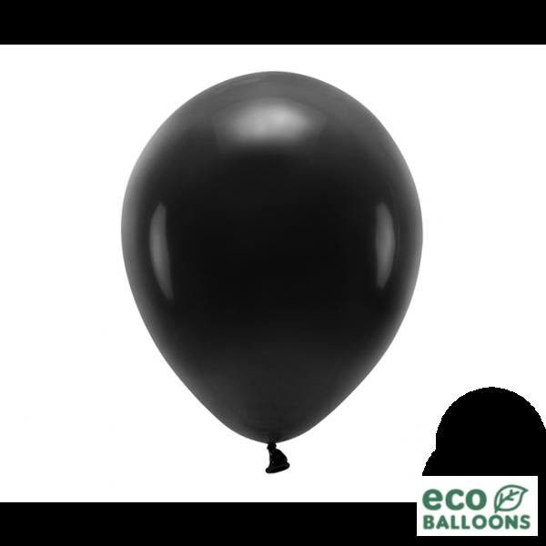 10 ECO-Luftballons - Ø 30cm - Black