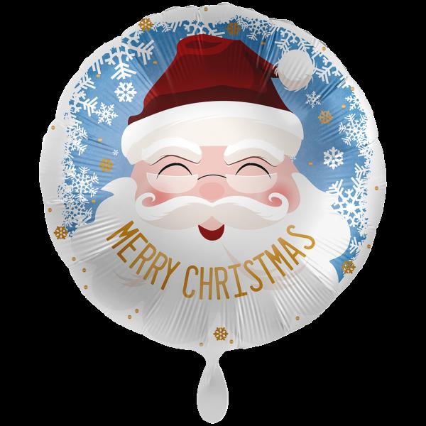 1 Ballon XXL - Santa Merry Christmas