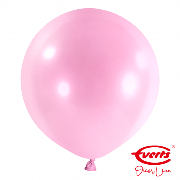 4 Riesenballons - DECOR - Ø 60cm - Pretty Pink (Rosa)
