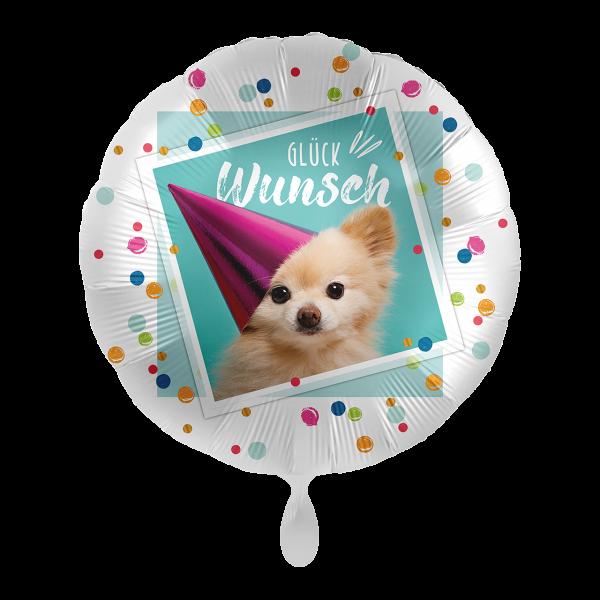 1 Ballon - Glückwunsch Sweet Puppy