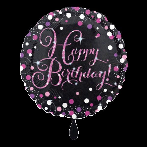 1 Ballon - Pink Celebration