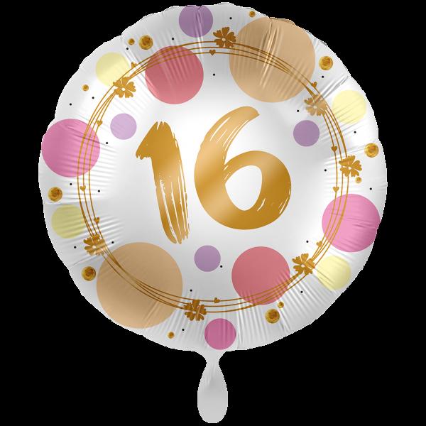 1 Ballon XXL Shiny Dots 16