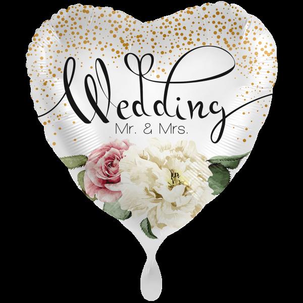 1 Ballon XXL - Wedding Flower