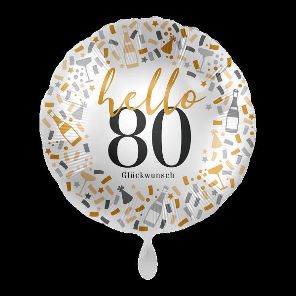 1 Ballon - Hello 80