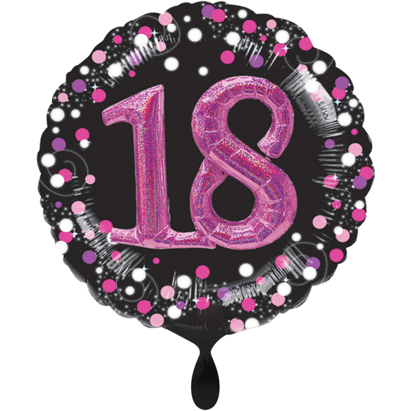 1 Ballon XXL - Sparkling Pink 18