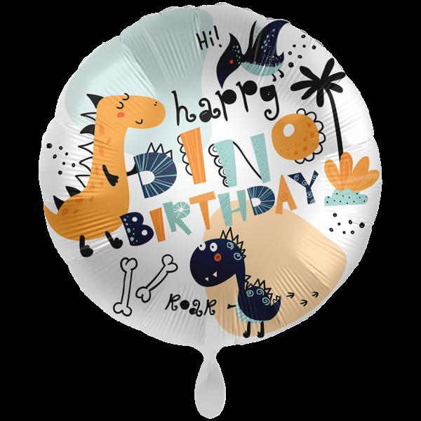 1 Ballon XXL - Dinomate Birthday