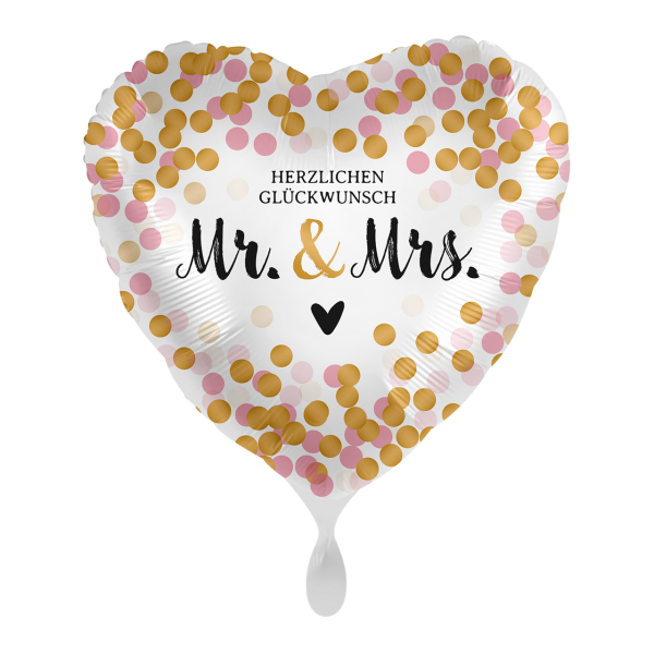 1 Ballon - Mr. & Mrs. Dotty