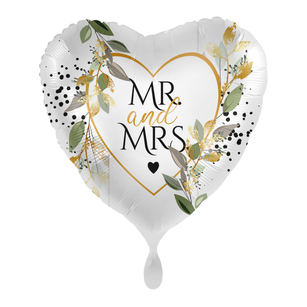 1 Ballon - Mr. & Mrs. Botanical