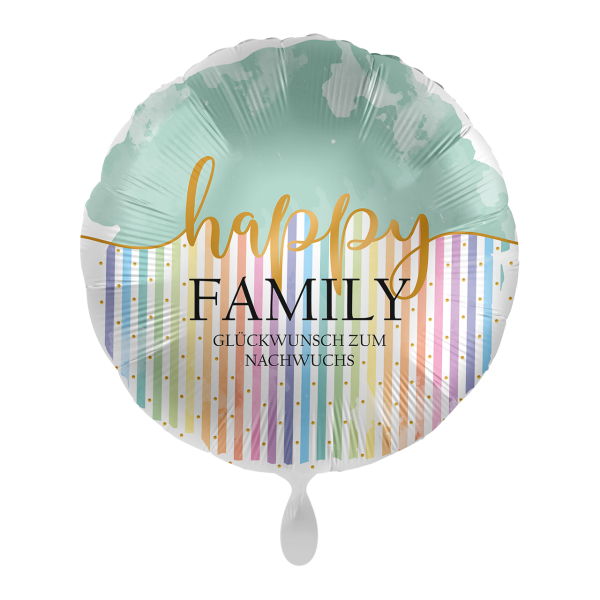 1 Ballon - Happy Family