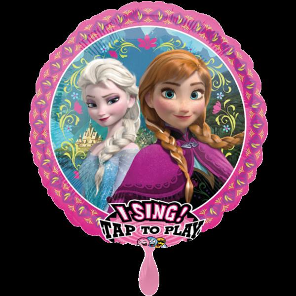 1 Musikballon - Frozen