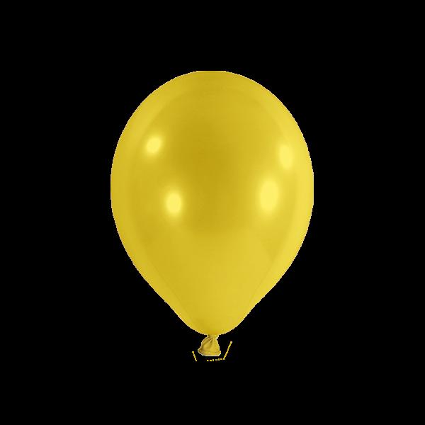100 Luftballons - Ø 23cm - Gelb