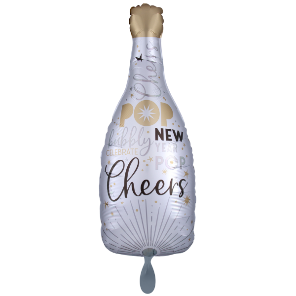 1 Ballon XXL - Satin Infused Celebrate the New Year Bubbly