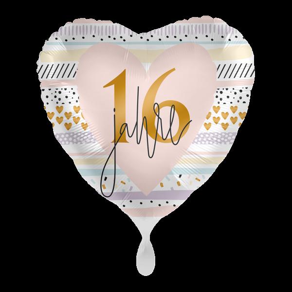 1 Ballon - Creamy Blush 16