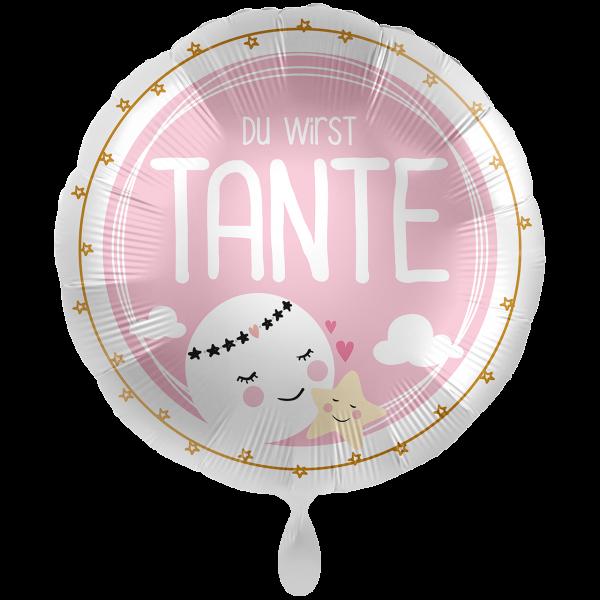 1 Ballon XXL - Du wirst Tante